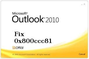 0x800ccc81 Ausblick 2010