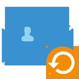 la recuperación de contactos de Outlook corrompida