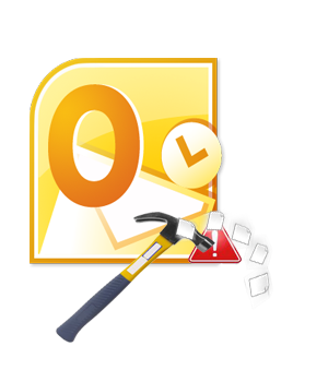 Restore corrupt Outlook contacts
