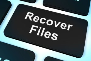 Outlook data file recovery