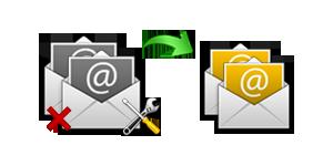 يست استعادة البريد الإلكتروني