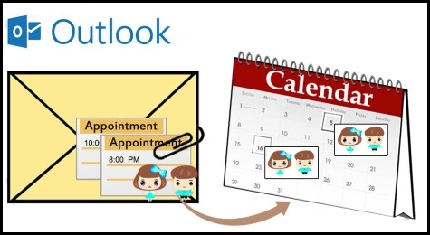 extract Outlook appointments