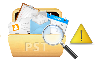 how to repair 2010 outlook .pst file
