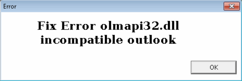 Outlook PST Olmapi32.dll