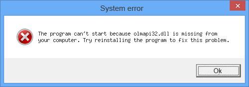 Regsvr32 Olmapi32.Dll