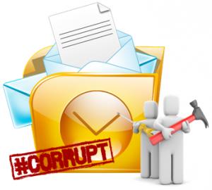 استرداد الملفات الفاسدة أو يتعذر الوصول إليها PST