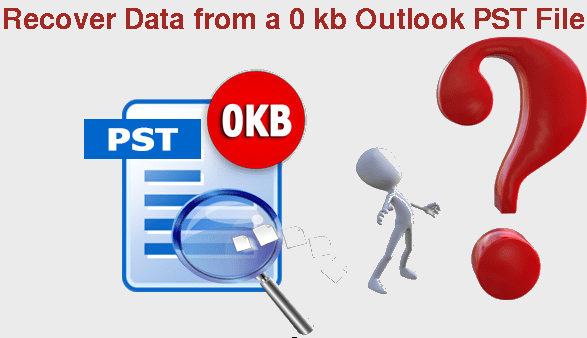 Recover Data from a 0 kb Outlook PST File