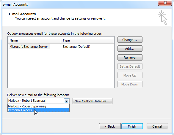 Outlook 2010 PST For Electronic Messaging