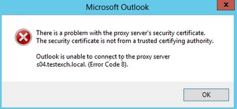 إصلاح رمز الخطأ 8 في Microsoft Outlook