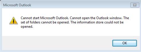 Fix De set mappen kan niet worden geopend