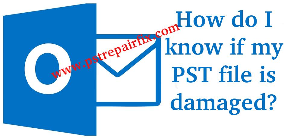 ¿Cómo puedo saber si mi archivo PST está dañado?