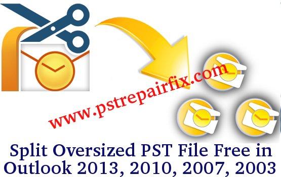 Split Oversized PST File Free