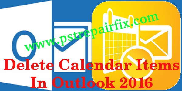 Kalendereinträge in Outlook 2016 löschen