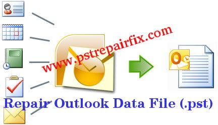repair Outlook Data File (.pst)