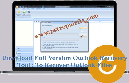 Download volledige versie Outlook Recovery Tool
