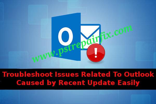 Solucione problemas relacionados con Outlook causados por actualizaciones recientes